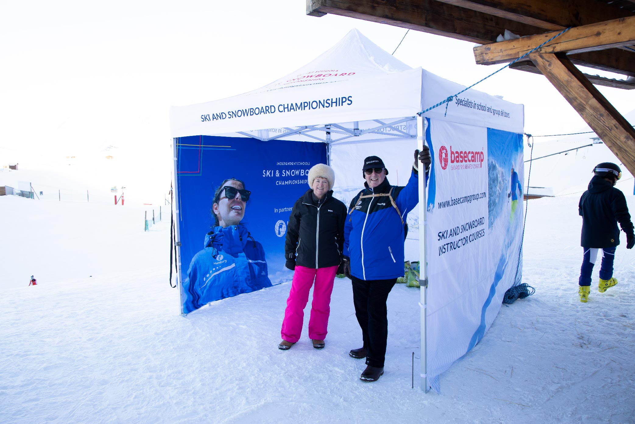 Who are Halsbury Ski - Keith and Sue